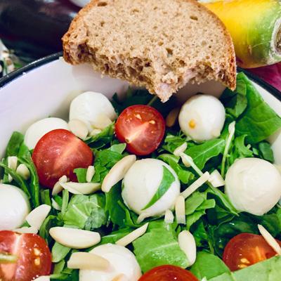 Caprese Salat Brot - Suppengalerie
